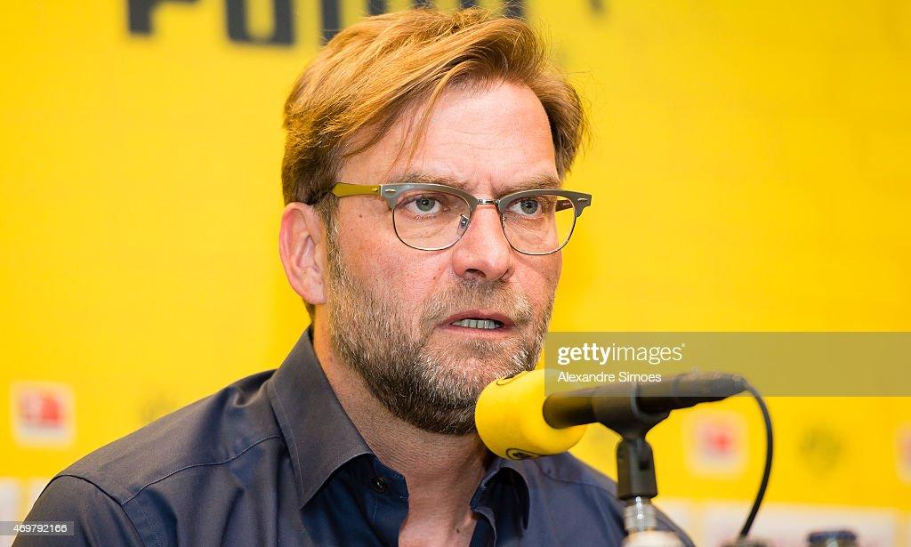 Borussia Dortmund - Press Conference : News Photo