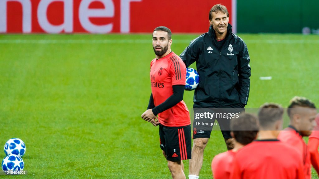 RUS: Real Madrid Training and Press conference