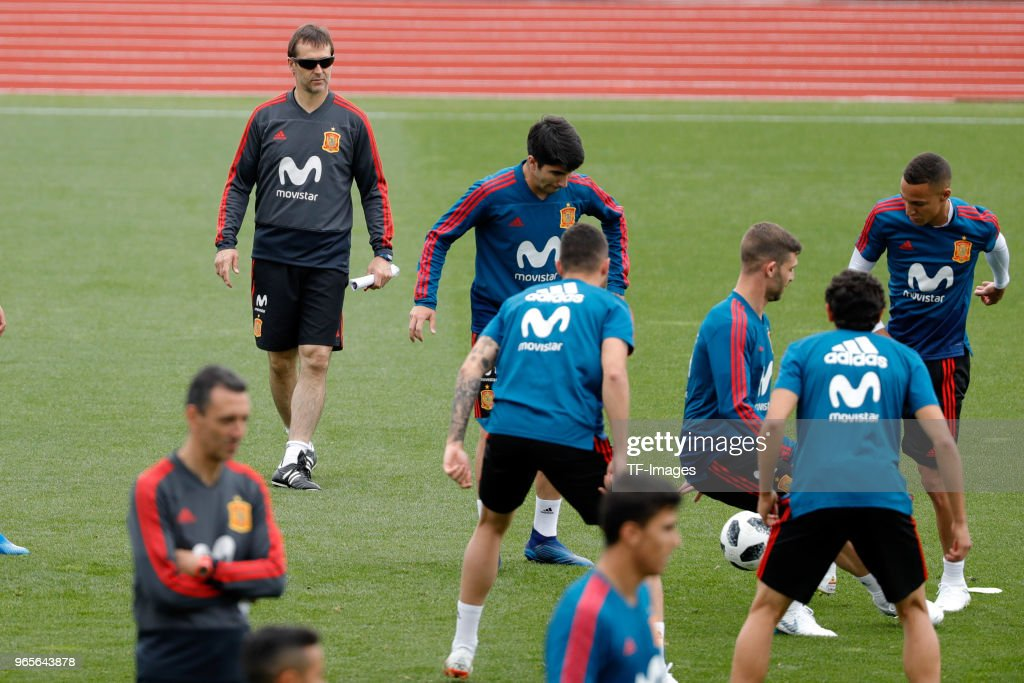 Spain Training Session : News Photo