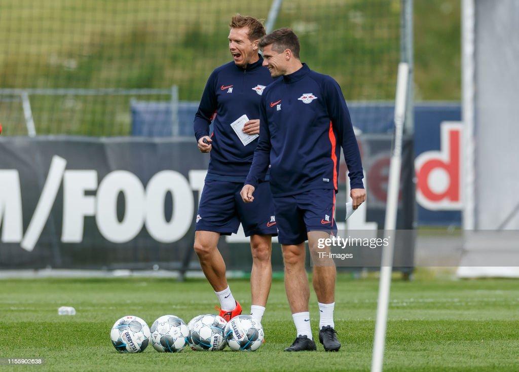 RB Leipzig Training Camp : News Photo