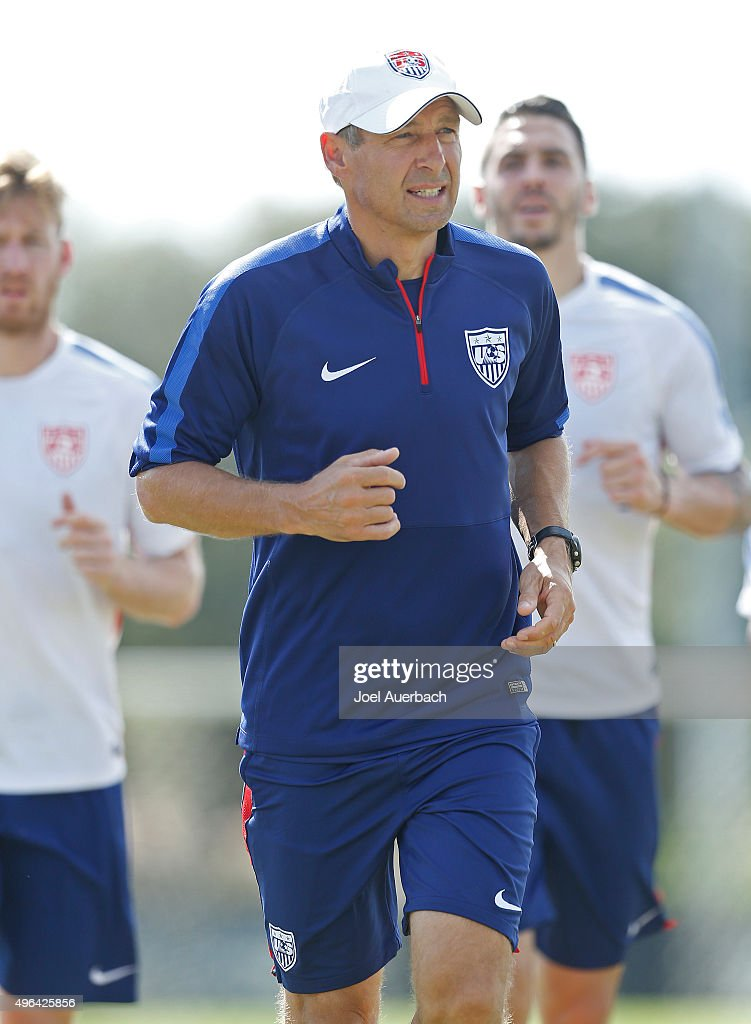 U.S. Men's Soccer Training Session : News Photo