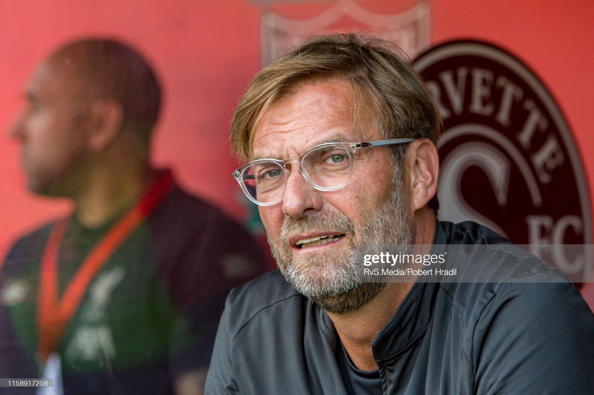 Liverpool v Olympique Lyonnais - Pre-Season Friendly : News Photo