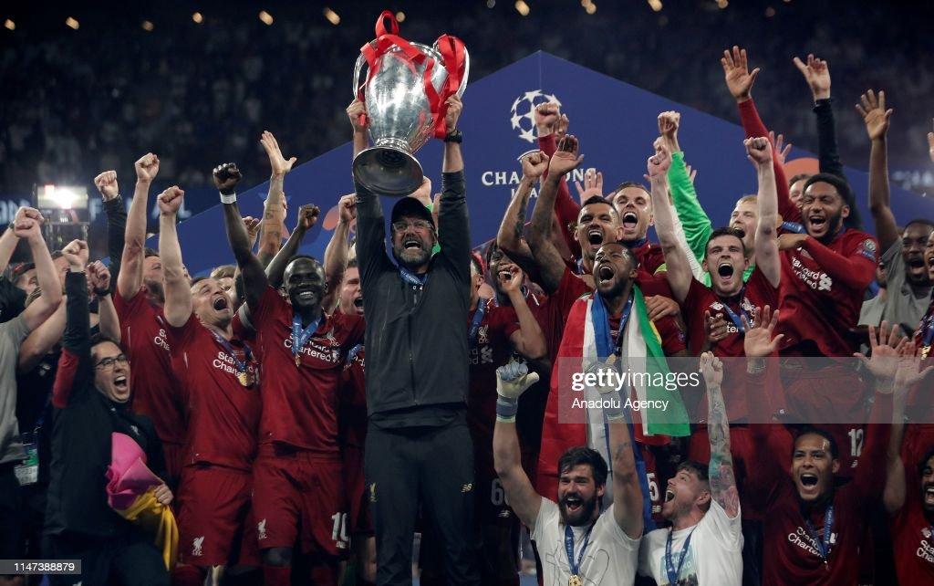 UEFA Champions League final: Tottenham vs Liverpool : ニュース写真