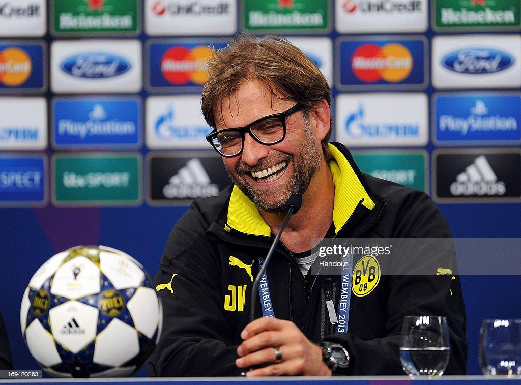 Borussia Dortmund Press Conference - UEFA Champions League Final : News Photo