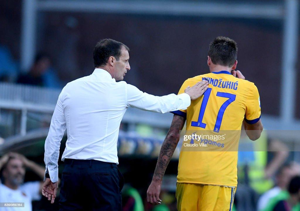Genoa CFC v Juventus - Serie A : ニュース写真
