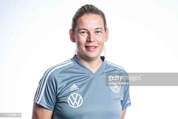 Head Coach Kathrin Peter poses on August 27 2019 in Tilburg Netherlands