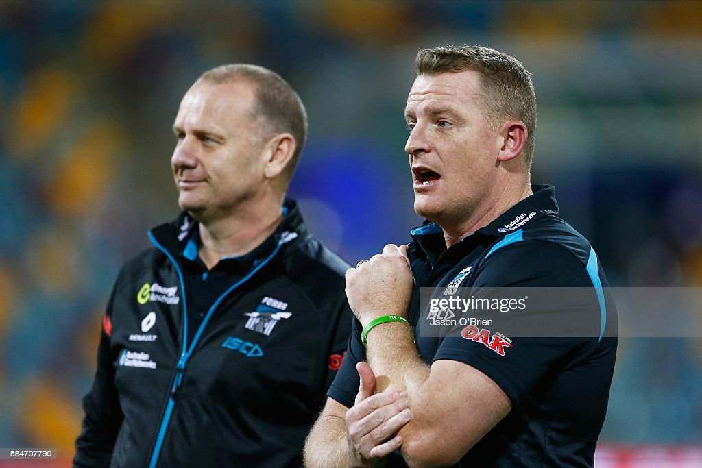 AFL Rd 19 - Brisbane v Port Adelaide