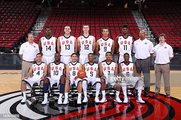 Head Coach Kevin Boyle Tony Parker Mitch McGary Kaleb Tarczewski Kyle Anderson Nerlens Noel and Assistant Coach Mike Jones Shabazz Muhammad James...