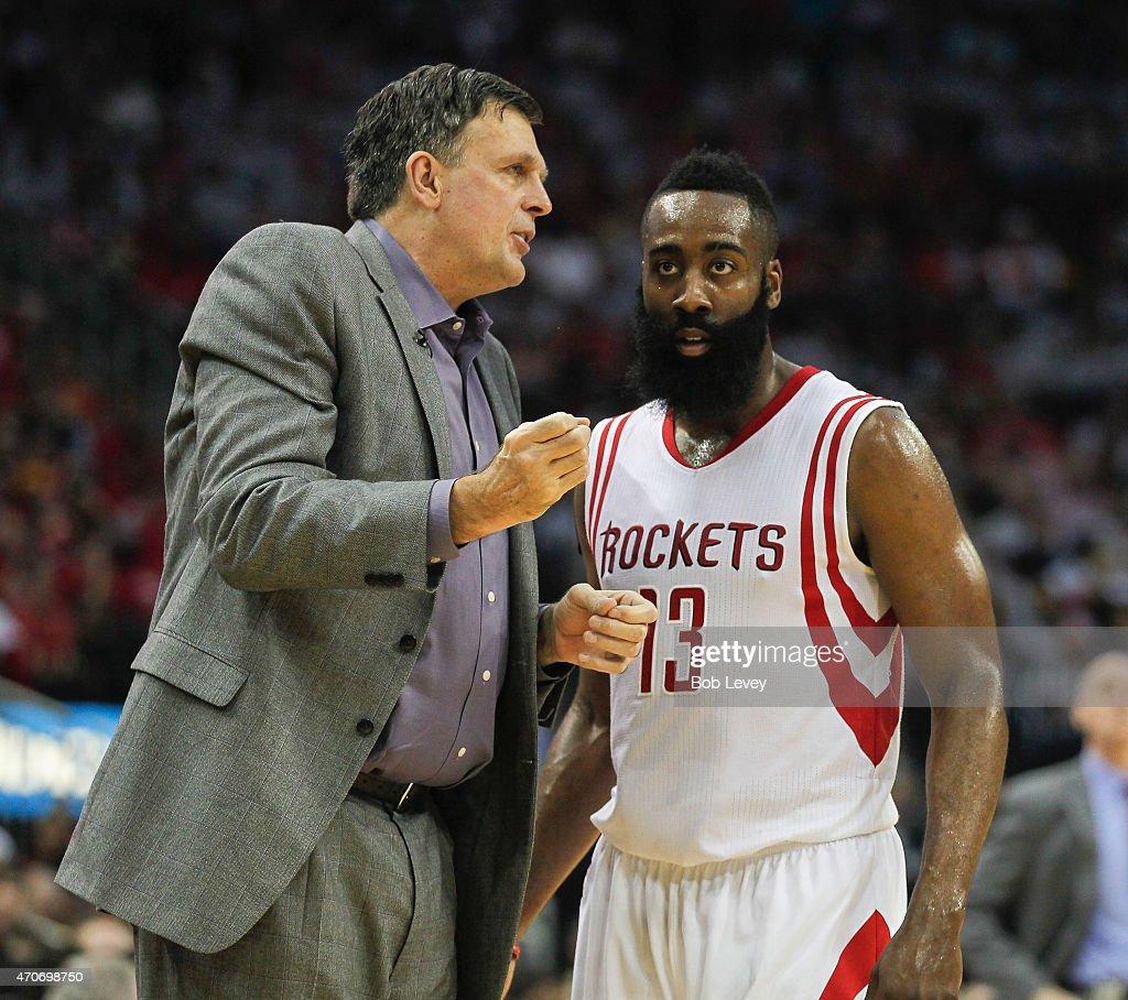 Dallas Mavericks v Houston Rockets - Game Two