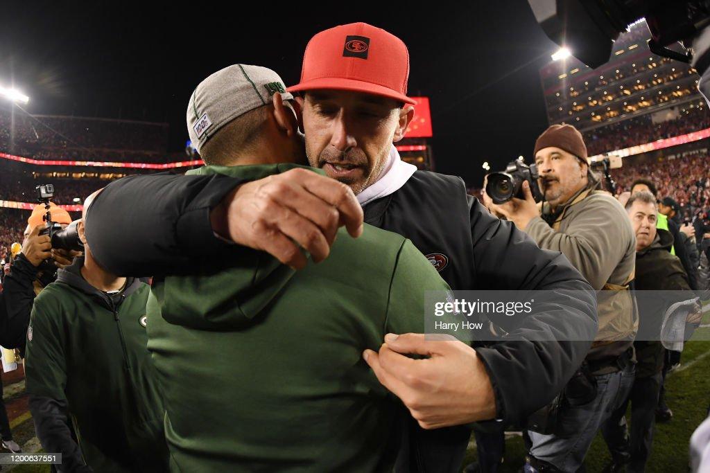 NFC Championship - Green Bay Packers v San Francisco 49ers : ニュース写真