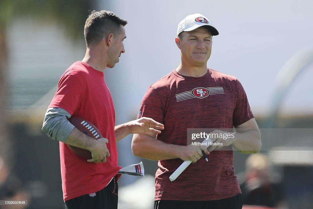 San Francisco 49ers Practice : News Photo
