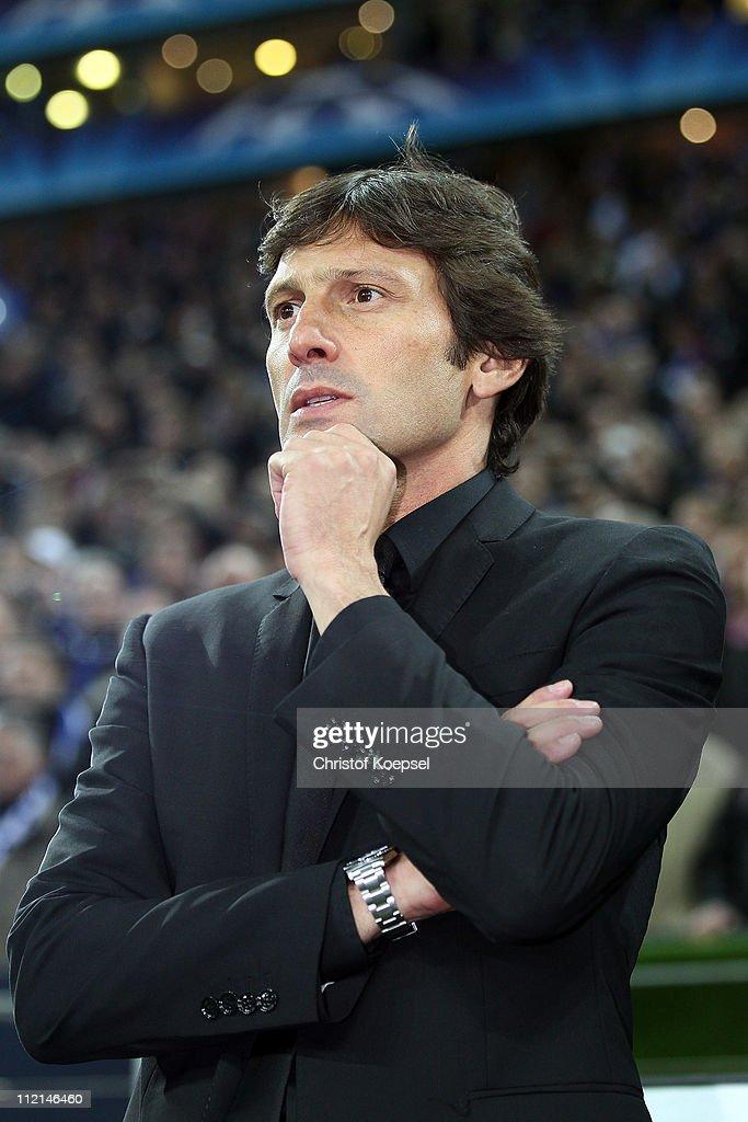 Schalke 04 v Inter Milan - UEFA Champions League Quarter Final : ニュース写真