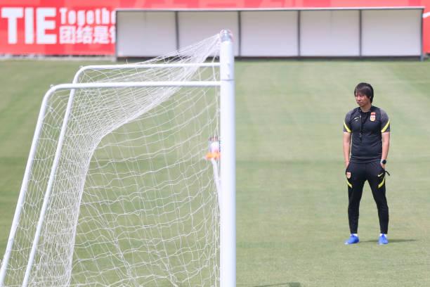 CHN: China National Football Team Training Session