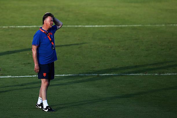BRA: Netherlands Training & Press Conference - 2014 FIFA World Cup Brazil