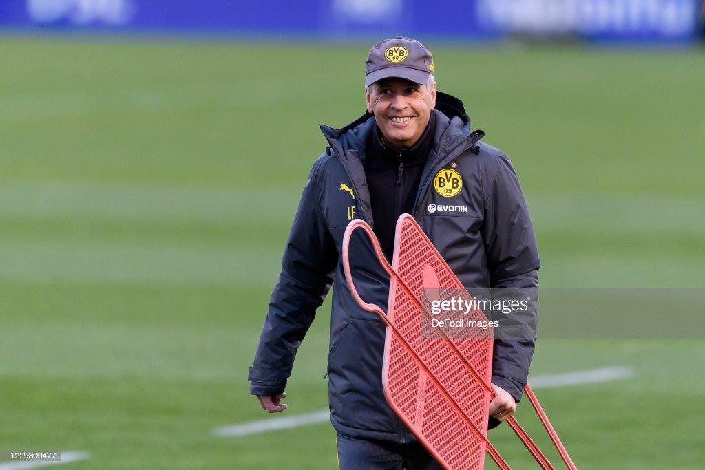 Borussia Dortmund - Press Conference And Training Session : News Photo