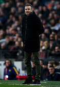 barcelona spain head coach luis enrique