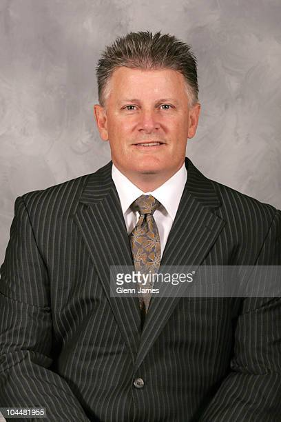 Head coach Marc Crawford of the Dallas Stars poses for his official headshot for the 20102011 NHL season on September 17 2010 in Dallas Texas
