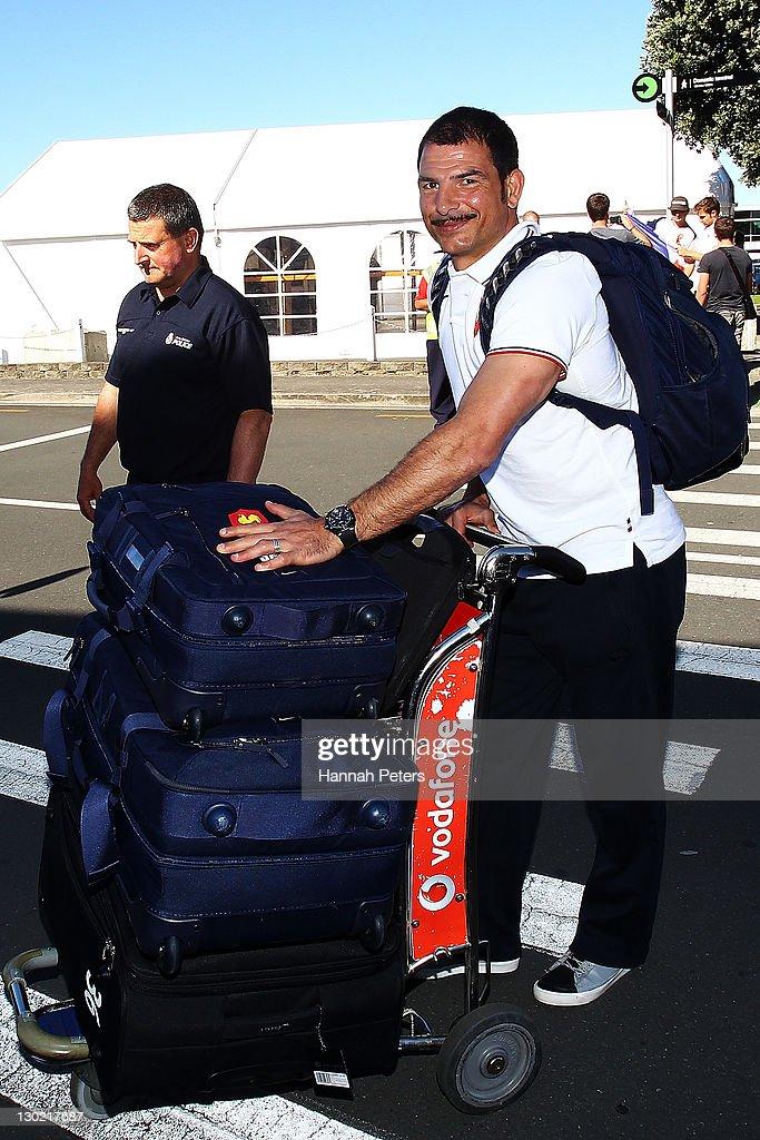 France IRB RWC 2011 Team Departure