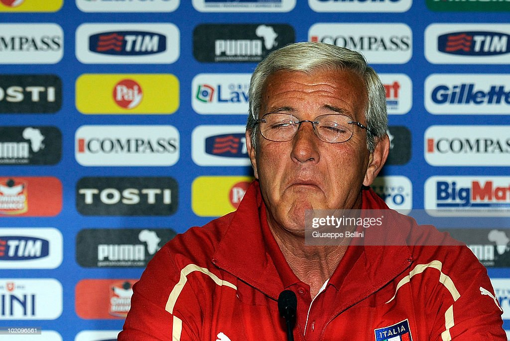 Italy Training & Press Conference - 2010 FIFA World Cup