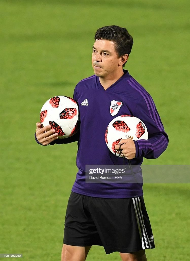 ARE: River Plate Training Session - FIFA Club World Cup UAE 2018