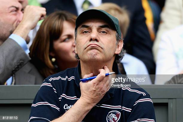 Head coach Marcelo Loffreda of Tigers during the Guinness Premiership Final match between Leicester Tigers and London Wasps at Twickenham on May 31...