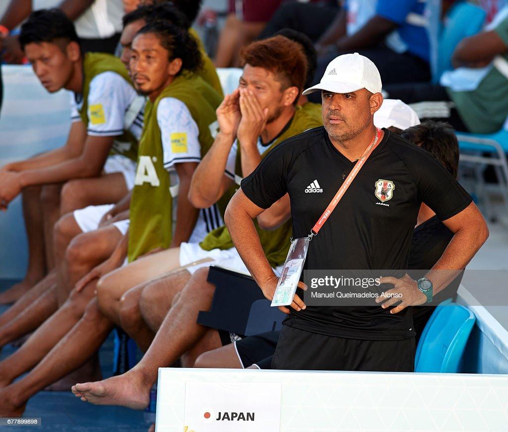 Brazil v Japan - FIFA Beach Soccer World Cup Bahamas 201 : ニュース写真