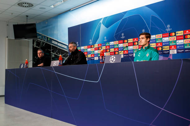 DEU: Borussia Moenchengladbach - Press Conference And Training Session