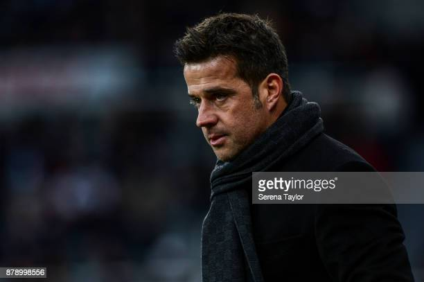 Head Coach Marco Silva during the Premier League match between Newcastle United and Watford FC at tStJames' Park on November 25 in Newcastle upon...