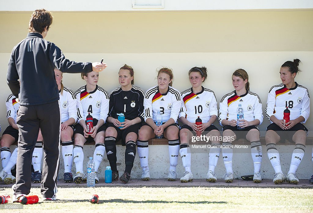 U19 Germany v  U19 Netherlands - Women's International Friendly : News Photo