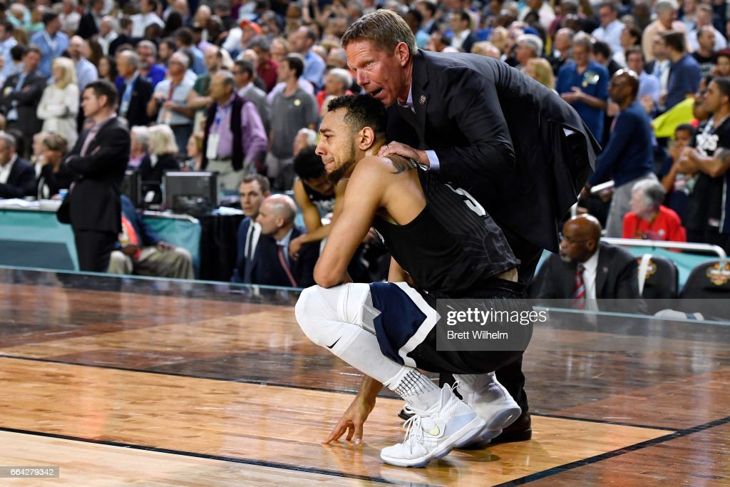 Gonzaga v North Carolina : News Photo