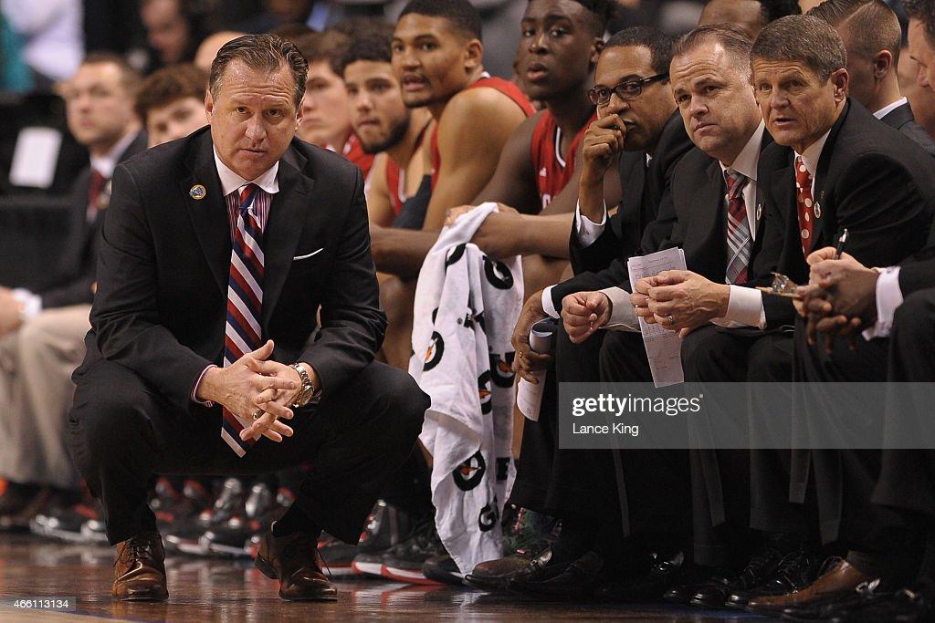ACC Basketball Tournament - North Carolina State v Duke : News Photo