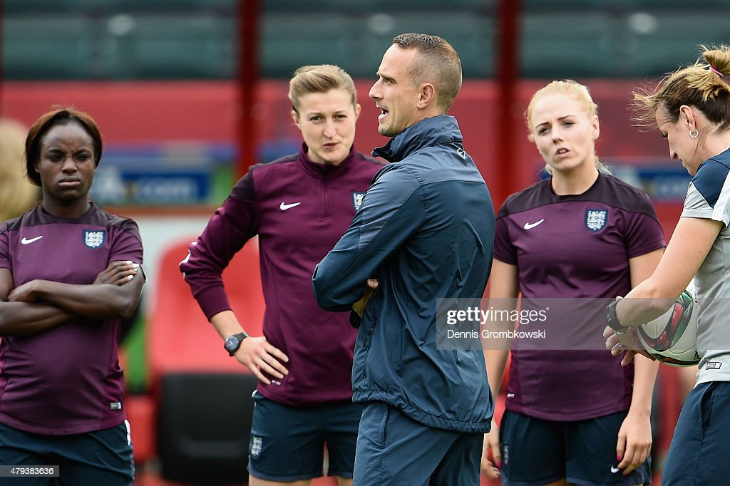 England Training & Press Conference - FIFA Women's World Cup 2015
