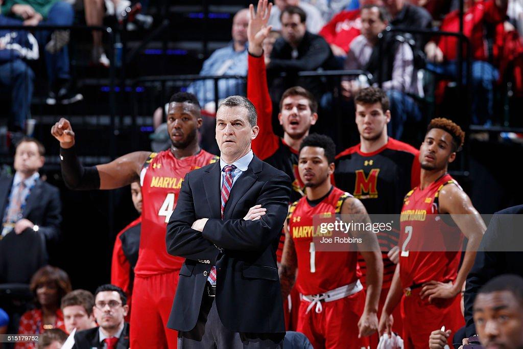 Big Ten Basketball Tournament - Semifinals : News Photo
