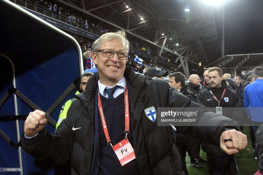 FBL-EURO-2020-QUALIFIER-FIN-LIE : News Photo