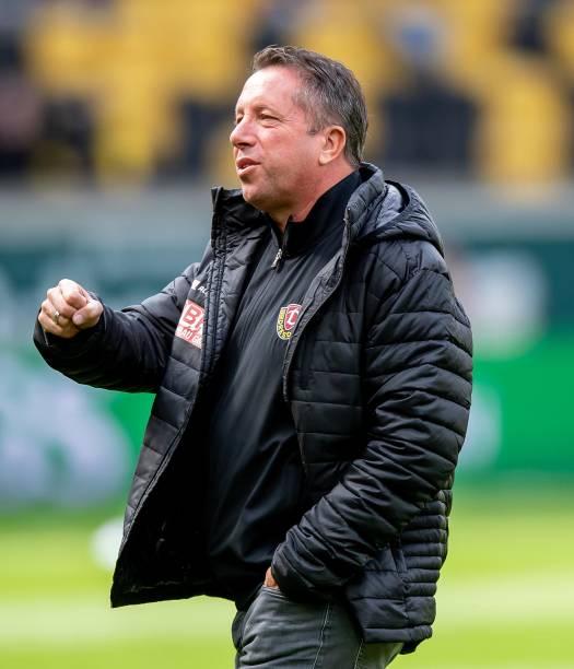 DEU: Dynamo Dresden v SV Waldhof Mannheim - 3. Liga