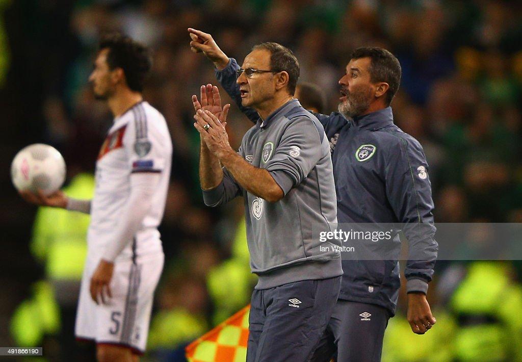 Republic of Ireland v Germany - UEFA EURO 2016 Qualifier : News Photo