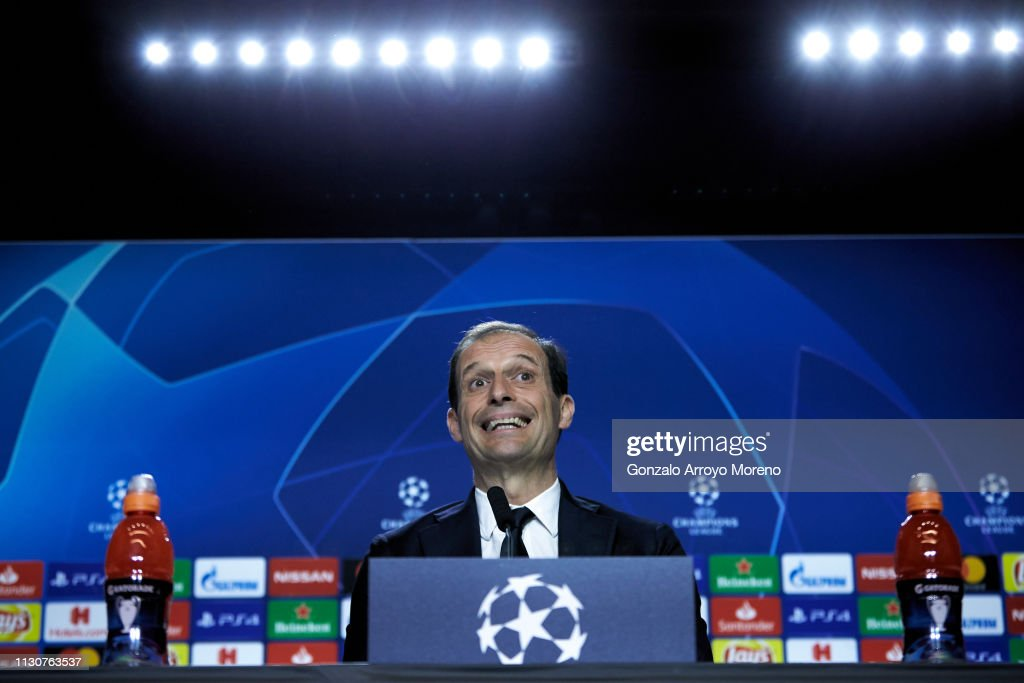 Juventus Press Conference : News Photo