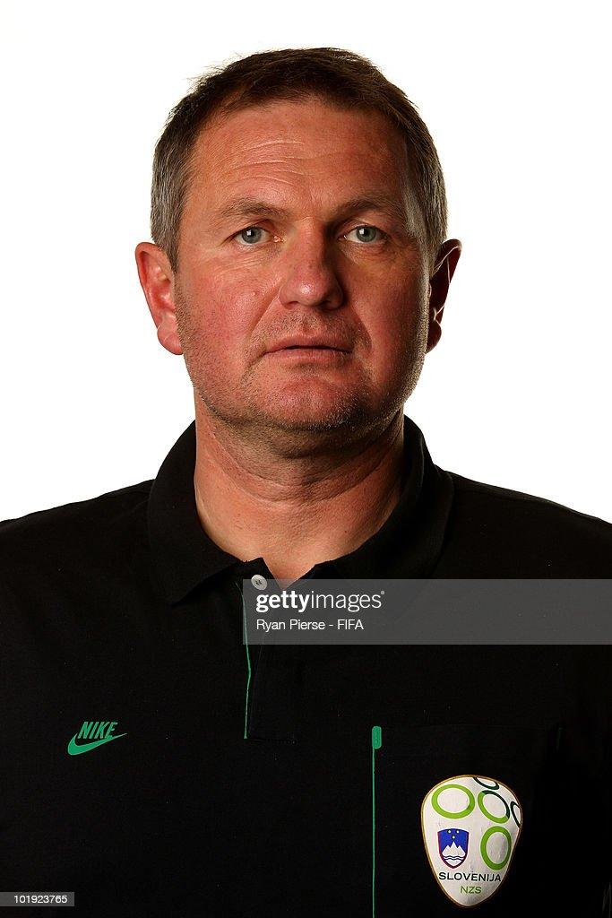 Slovenia Portraits - 2010 FIFA World Cup