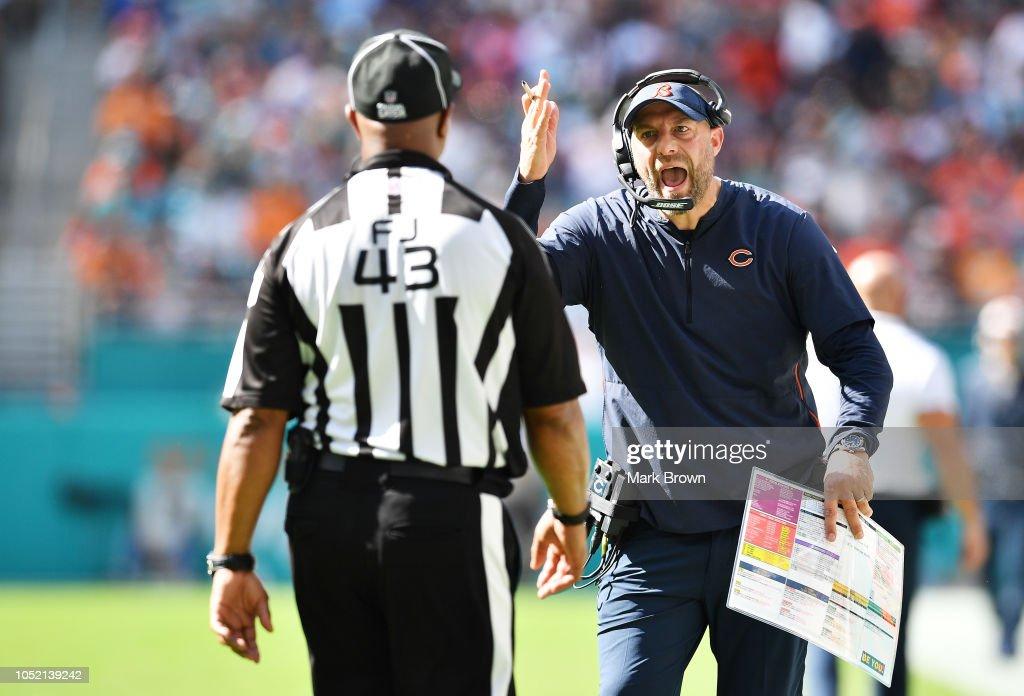 Chicago Bears v Miami Dolphins : News Photo