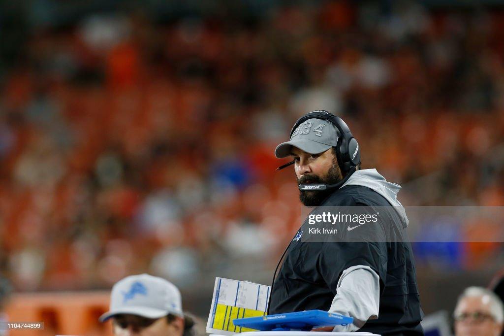Detroit Lions v Cleveland Browns : News Photo