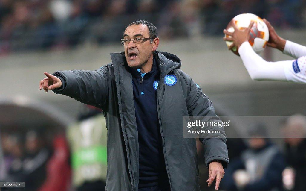 RB Leipzig v Napoli - UEFA Europa League : News Photo