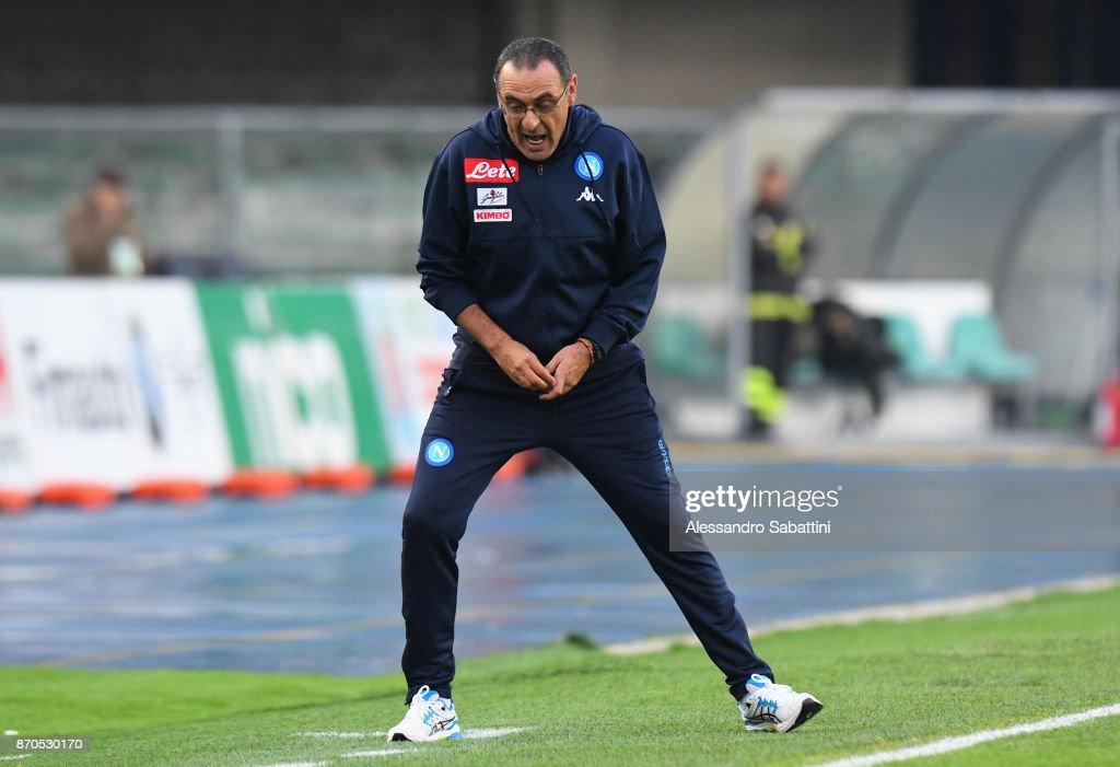 AC Chievo Verona v SSC Napoli - Serie A : News Photo