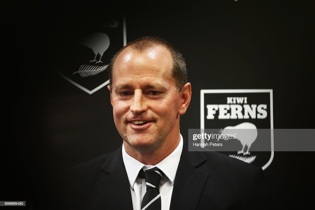 New Zealand Rugby League Coach Announcement Press Conference : News Photo