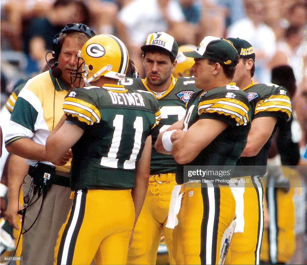 Los Angeles Rams vs. Green Bay Packers - August 6, 1994 : News Photo
