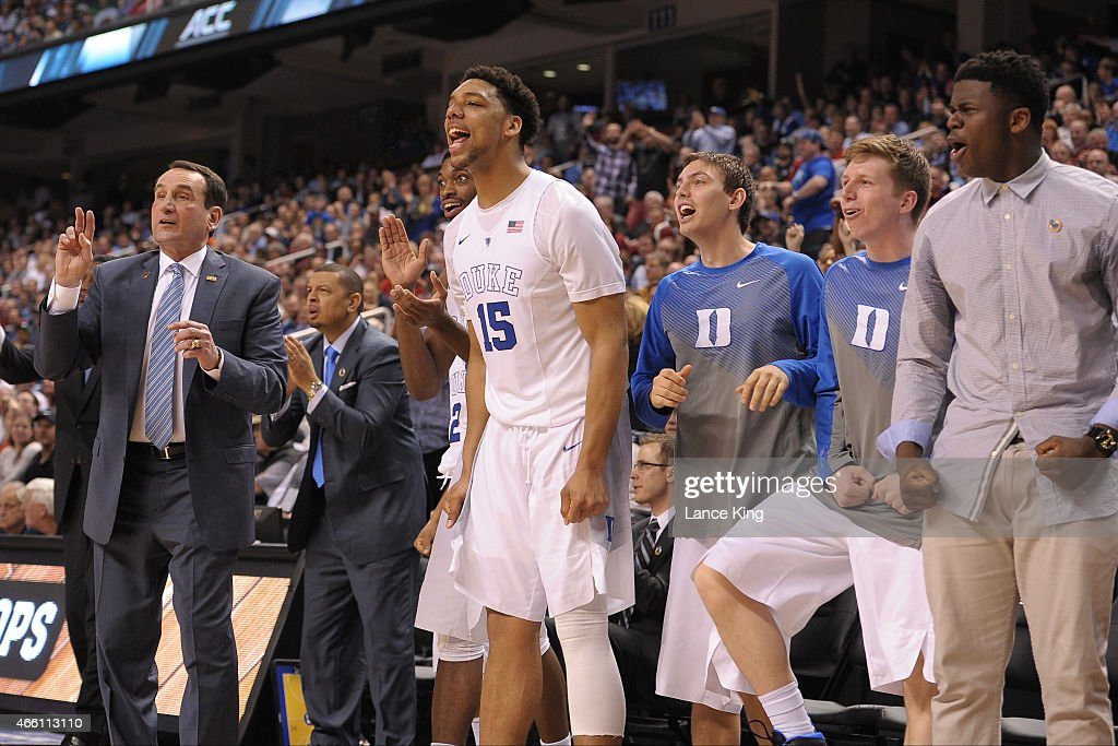 ACC Basketball Tournament - North Carolina State v Duke : News Photo