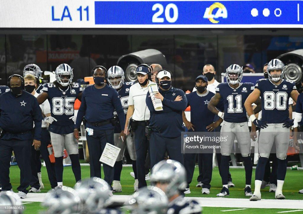Dallas Cowboys v Los Angeles Rams : News Photo