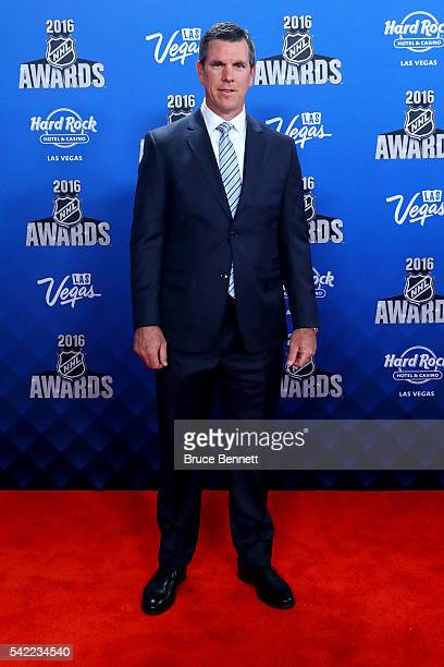 Head coach Mike Sullivan of the Pittsburgh Penguins attends the 2016 NHL Awards at the Hard Rock Hotel Casino on June 22 2016 in Las Vegas Nevada