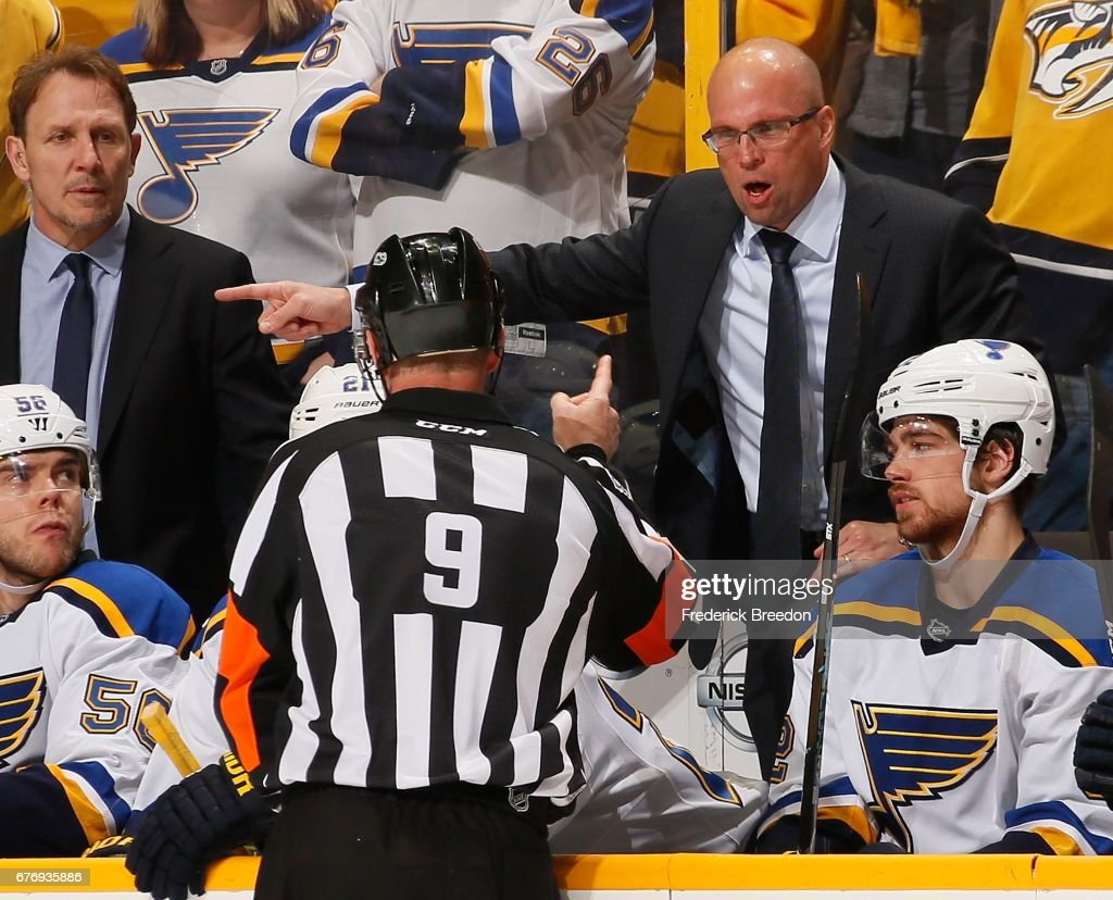 St Louis Blues v Nashville Predators - Game Four : News Photo