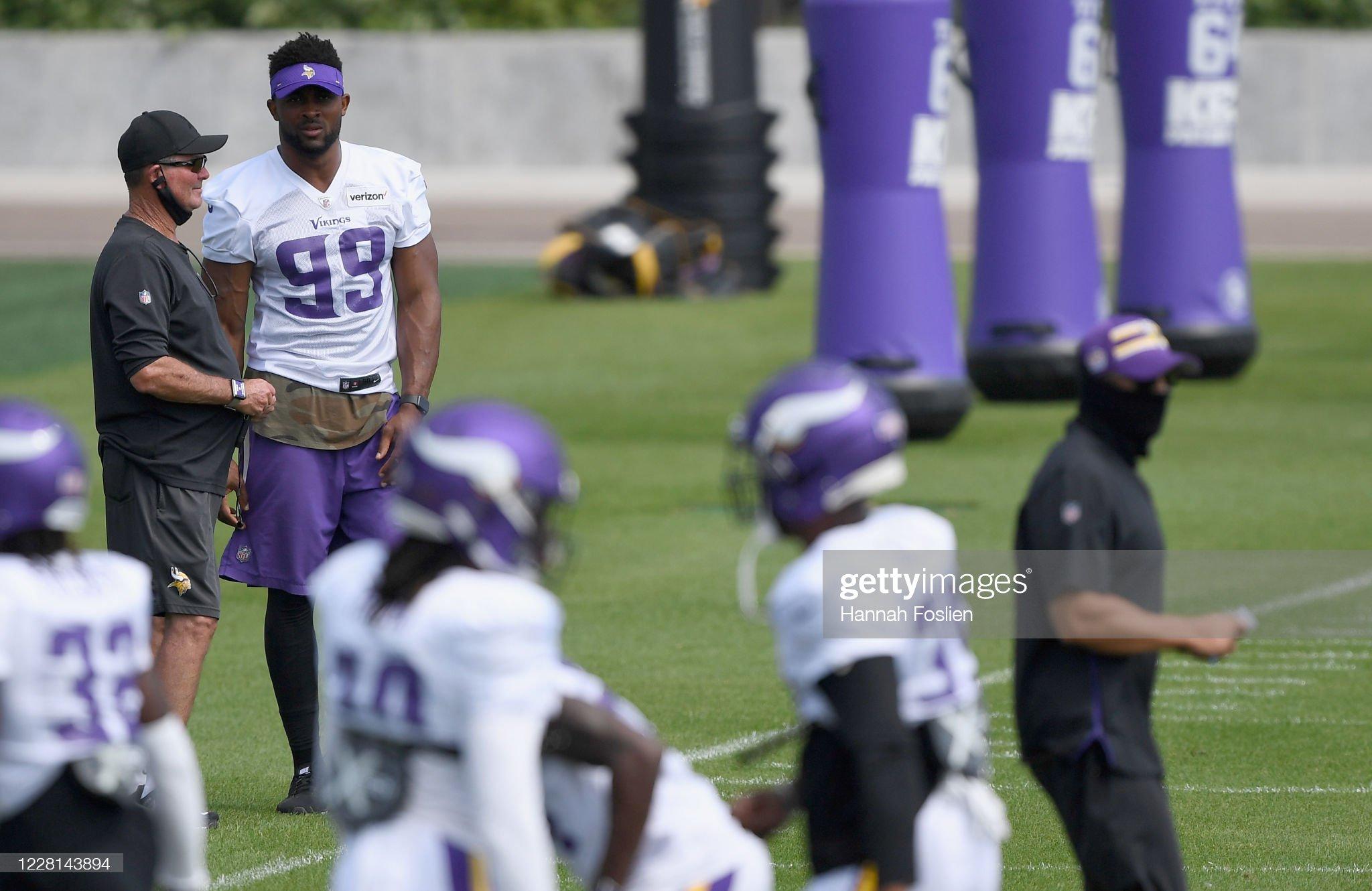 Minnesota Vikings Training Camp : News Photo