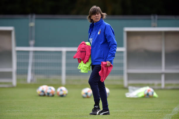 FRA: Italy Women Training Session & Press Conference: 2019 FIFA Women's World Cup France